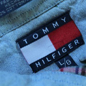 Tommy Hilfiger Shirts - Tommy Hilfiger Patchwork Button down Shirt